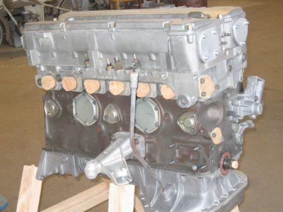 nettoyage du moteur avant peinture decapage basse pression