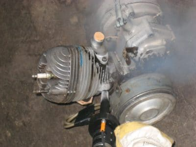 nettoyage de moteur par cryogenie