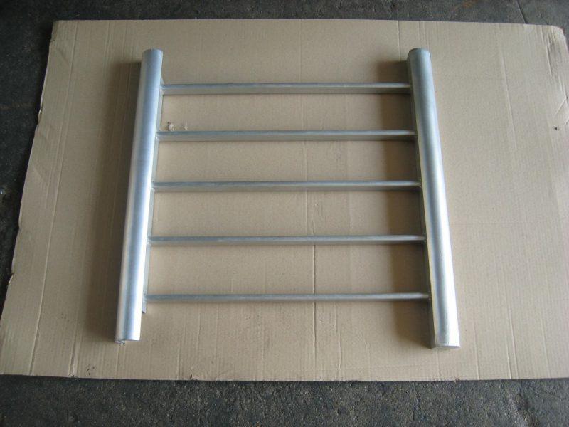 decapage industriel de pièces en acier