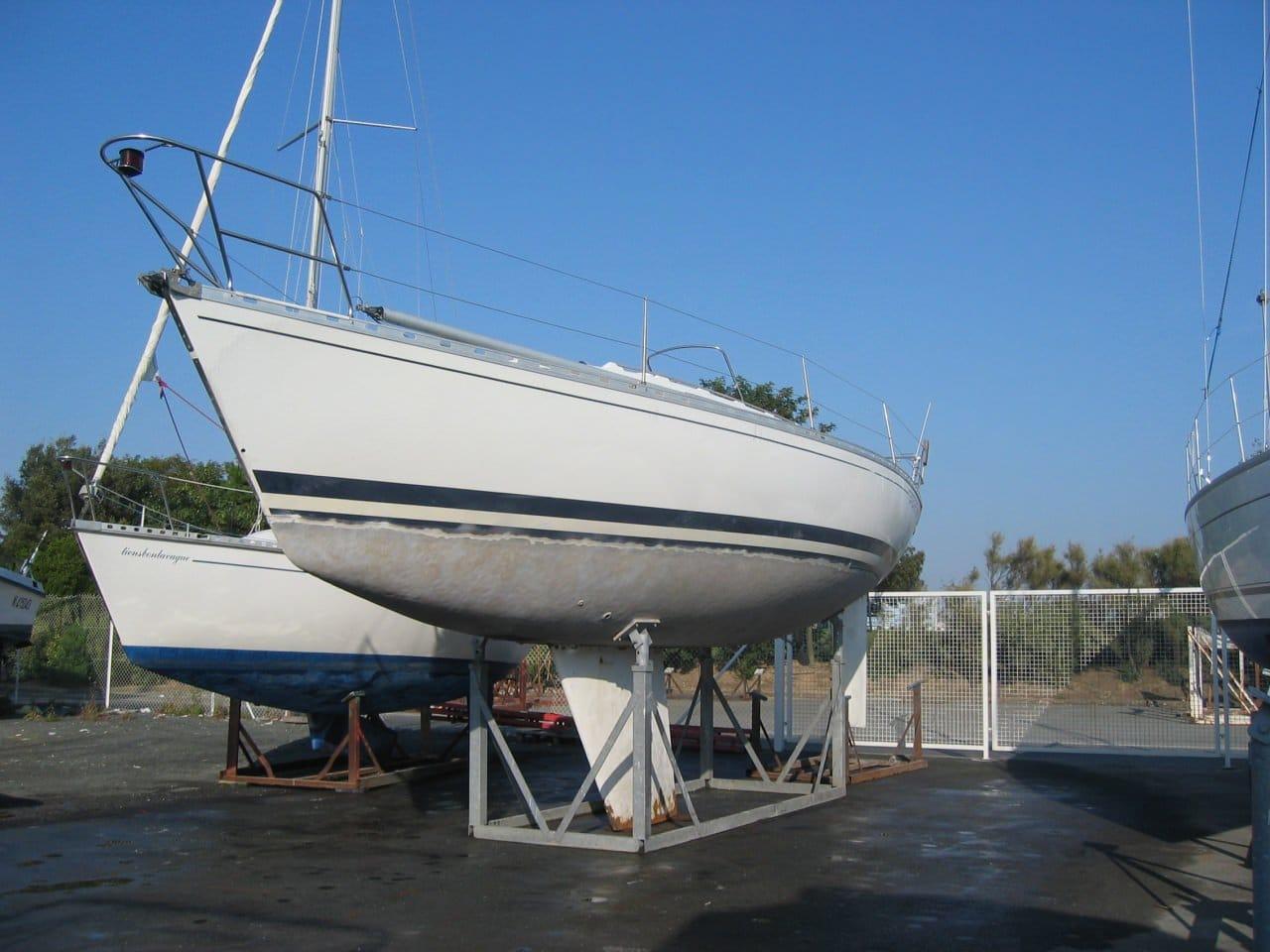 hydrogommage de bateau decapage gelcoat piscine