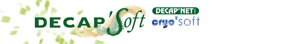 Logos decapsoft et cryosoft