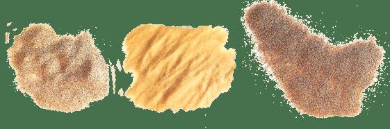 decapage basse pression abrasif doux, vegetal biodegradable