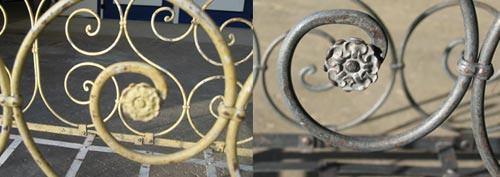 decapage sablage de meubles en métal meuble industriel ferronnerie marocaine
