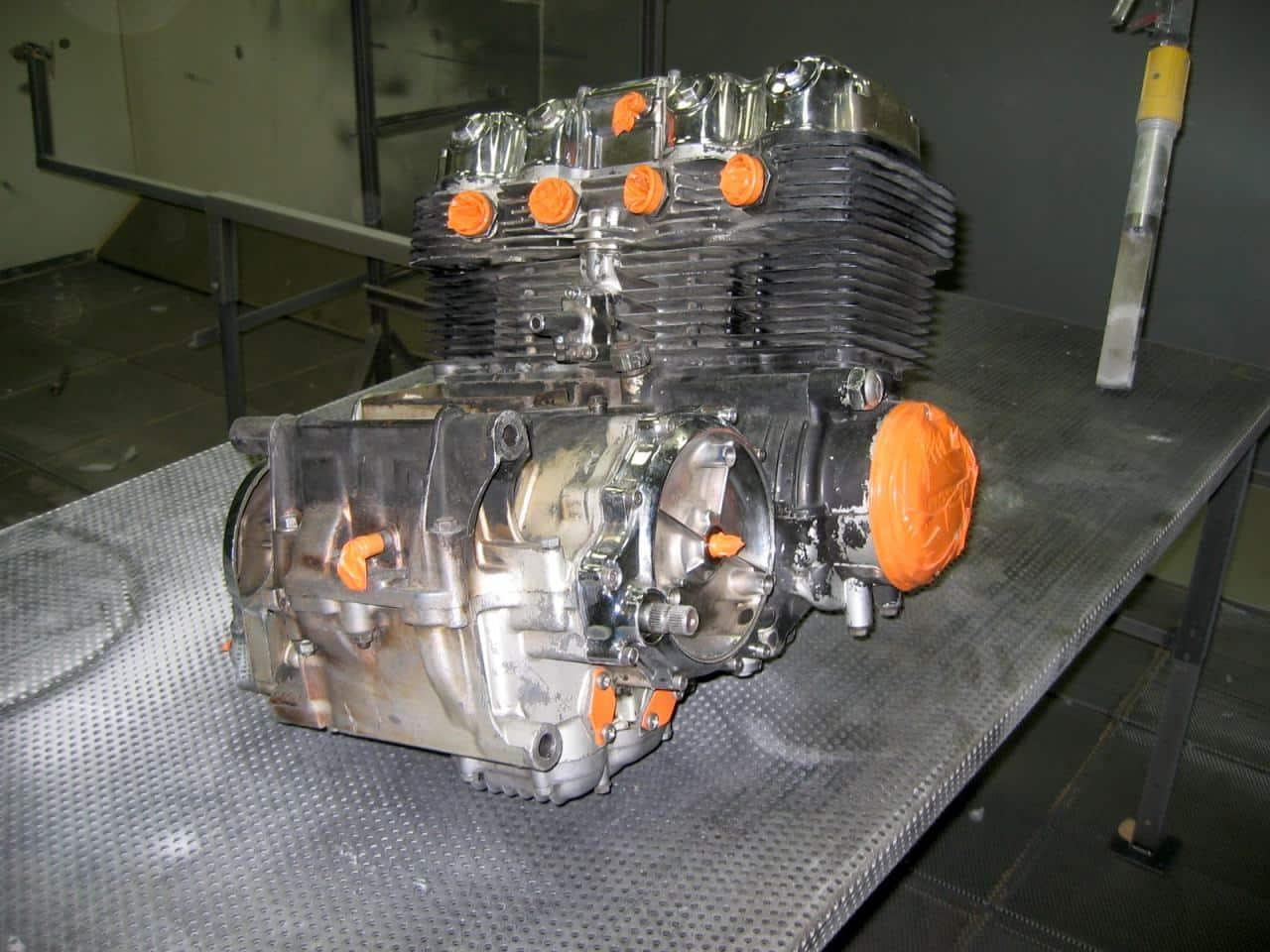Nettoyage et d graissage moteur sec sans produit chimique for Nettoyer de la fonte