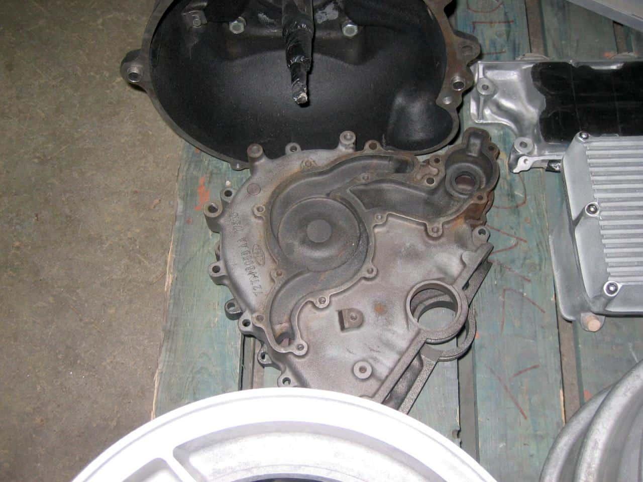 pieces de moteur ford capri rs2600 decapage et nettoyage basse pression decapsoft