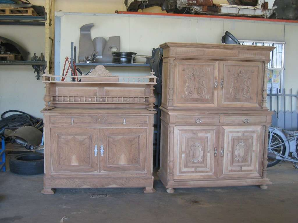 D capage meuble et sablage radiateur for Restauration de vieux meubles