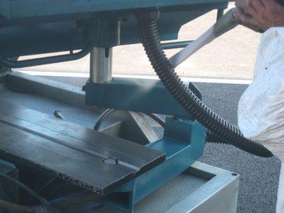 presse injection plastique nettoyage de ligne de production
