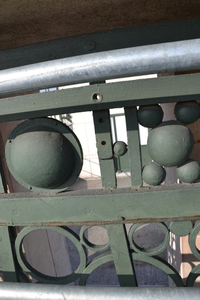 balustrade 1930 metal samaritaine restauration