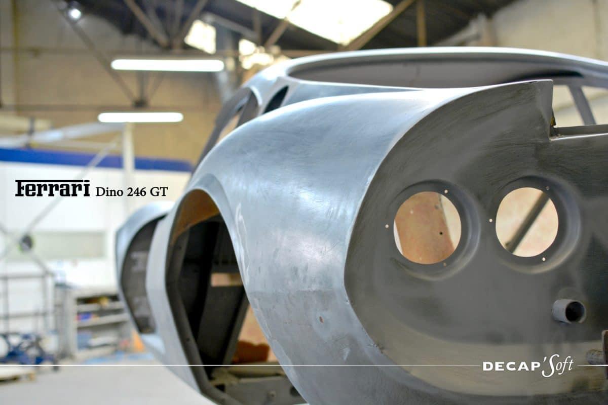 Beautiful Aérogommage Ferrari Dino 246GT