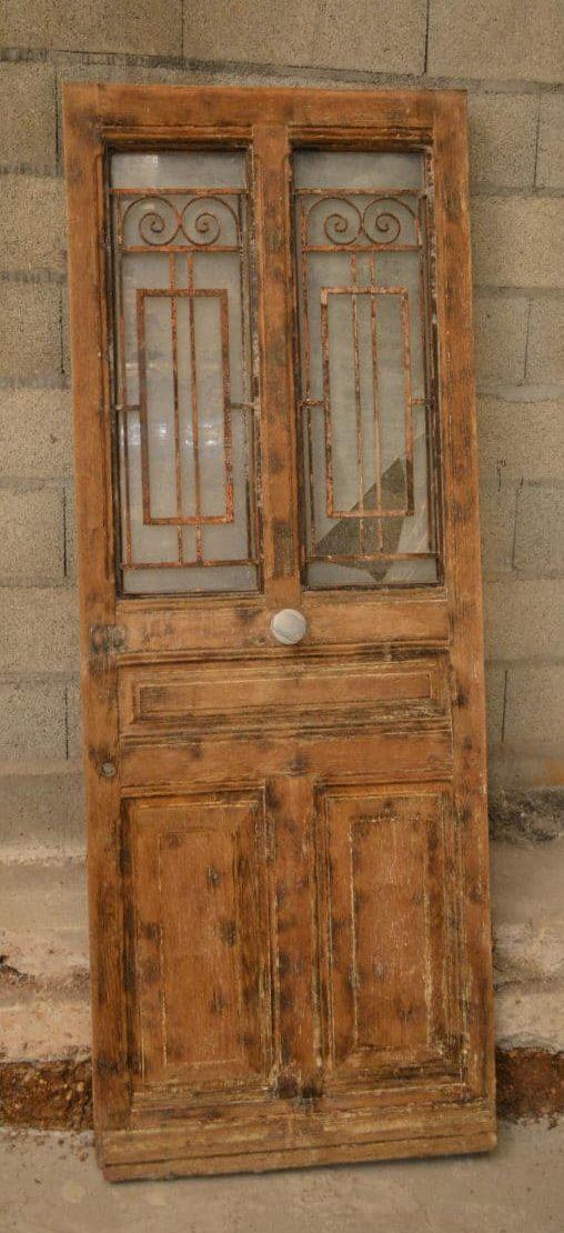 Decapage Porte Bois > Passage dans l'atelier des artisans décapeurs
