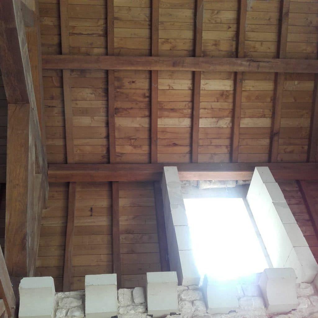 décapage plafond église vienne