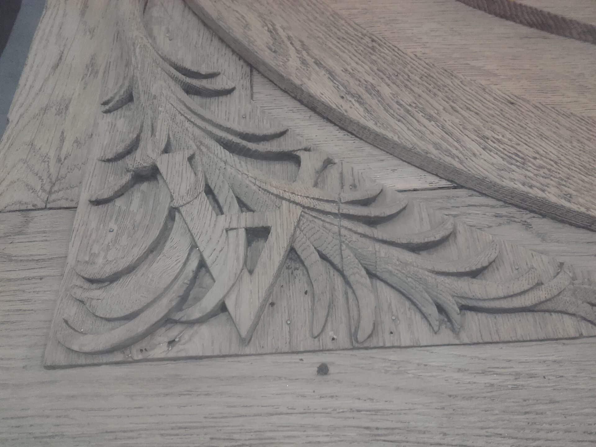 décapage sculpture bois