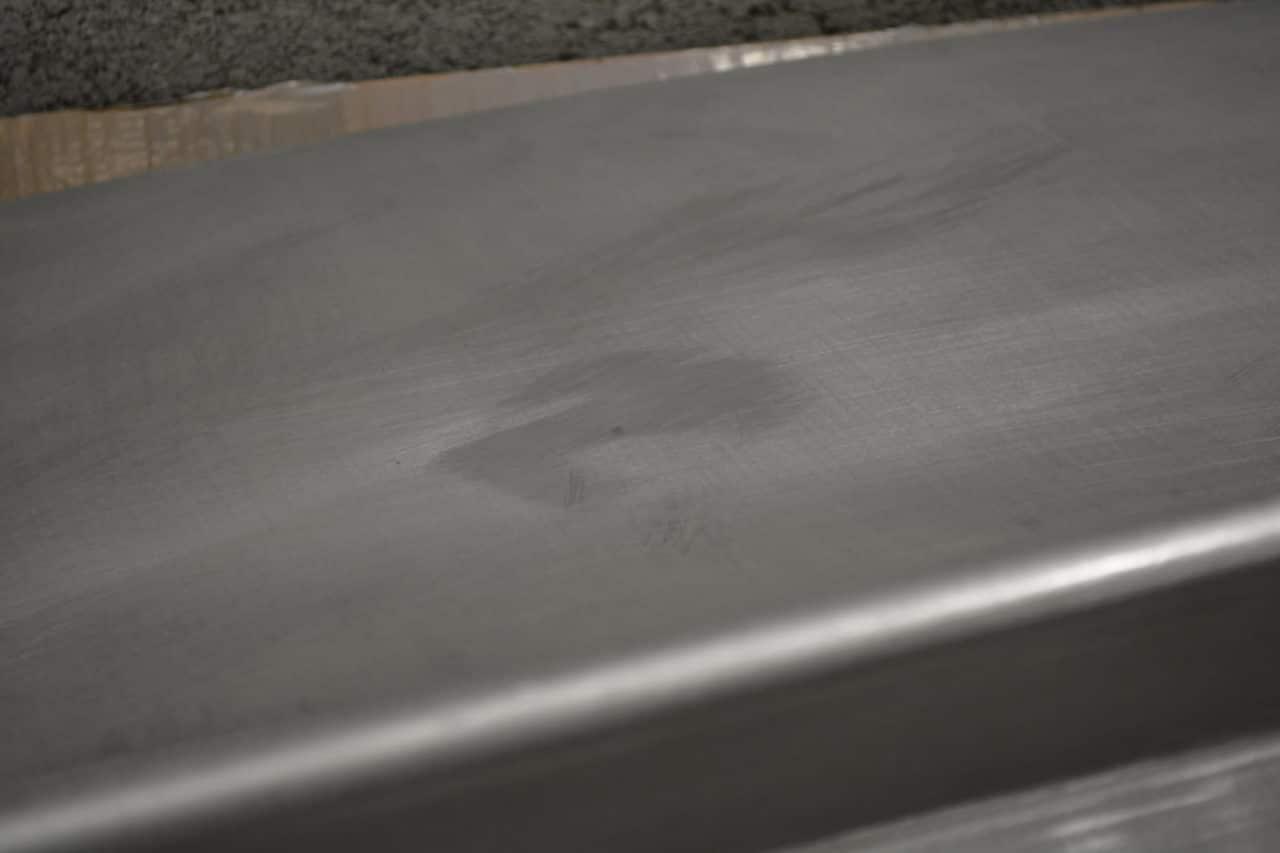 résultat décapage alu carrosserie DB5