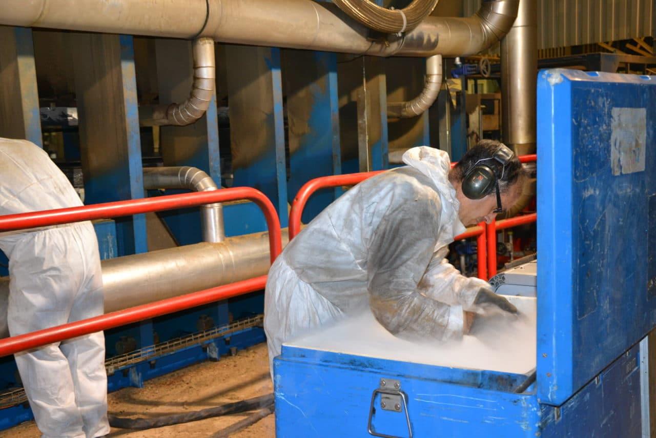 approvisonnement glace carbonique industrie