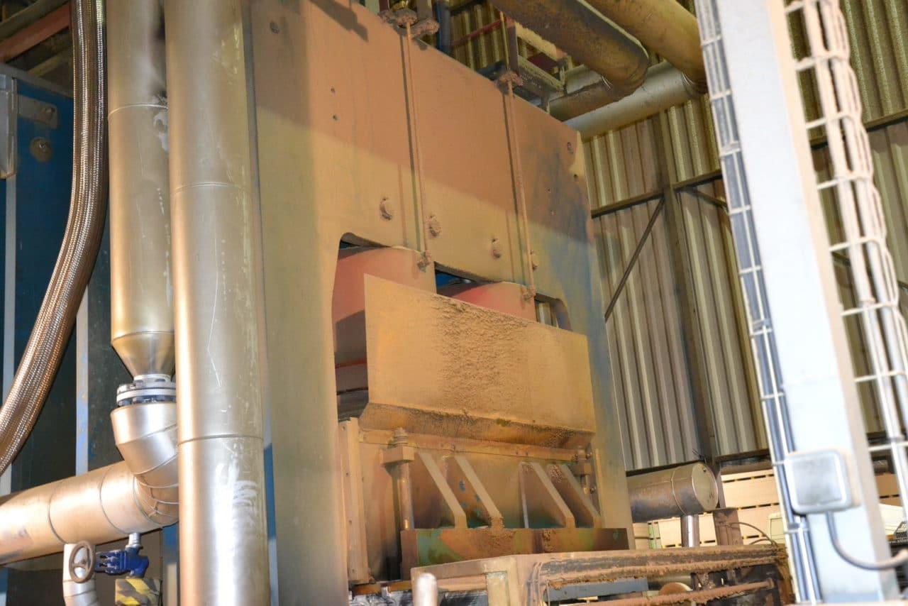ligne de production de panneaux de particule 3