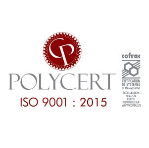 logo polycert certification iso9001