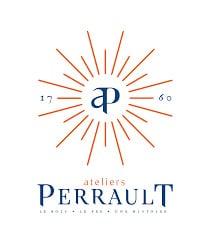 Logo Ateliers Perrault client aérogommage monuments historiques charpentes et boiseries